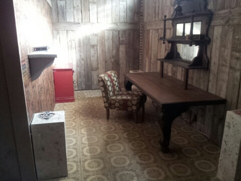 One area inside the Escape the Study in Key West