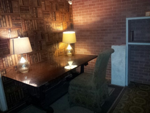 This is one of the rooms in the Escape the Study Key West Room Escape